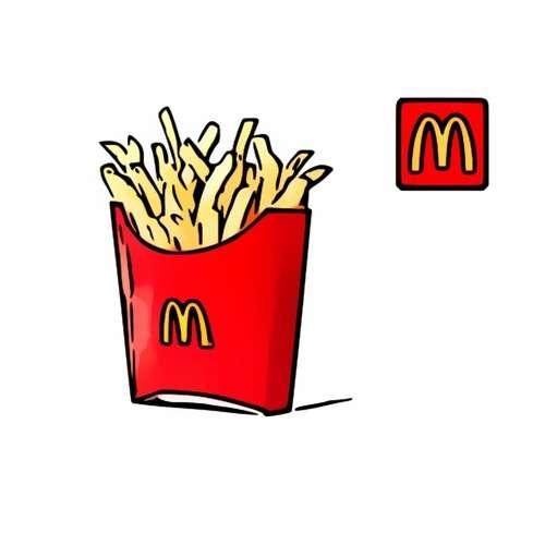 【麥當勞】麥當勞 薯條中包(即享券)