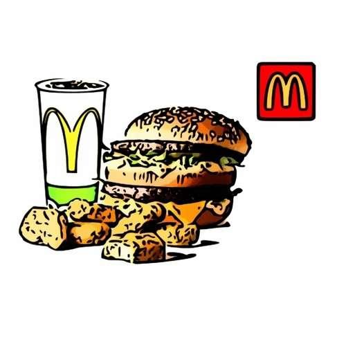 【麥當勞】麥當勞 大麥克+麥克雞塊6塊+中杯可樂(即享券)